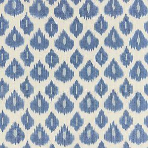 27176-002 AMARA IKAT WEAVE Lapis Scalamandre Fabric