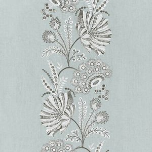 27162-003 ANNELISE EMBROIDERY Skylight Scalamandre Fabric