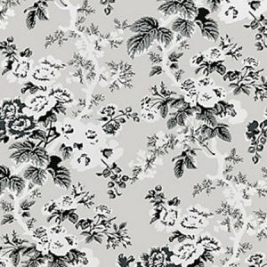 SC 0003WP88372 WP88372-003 ASCOT FLORAL PRINT French Grey Scalamandre Wallpaper