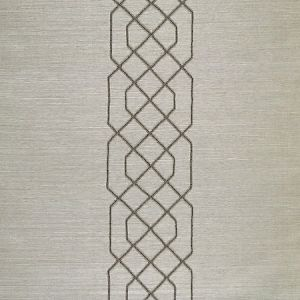 SC 0003WP88385 WP88385-003 ADELAIDE BEADED SISAL Pewter Scalamandre Wallpaper