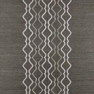 SC 0004 WP88447 VALENTINA EMBELLISHED SISAL Sterling Scalamandre Wallpaper