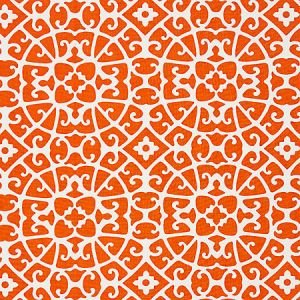16559-004 ANSHUN LATTICE Persimmon Scalamandre Fabric
