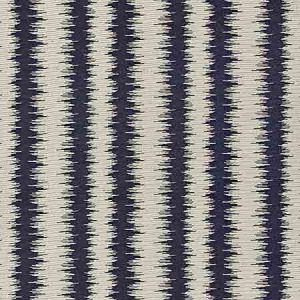 27138-005 KONYA IKAT STRIPE Indigo Scalamandre Fabric
