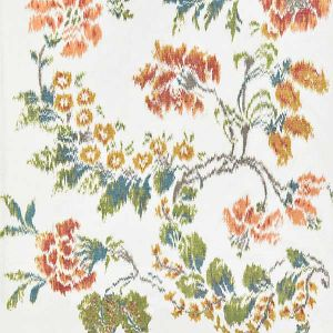 16611-001 KEW GARDENS WARP PRINT Multi On Ivory Scalamandre Fabric