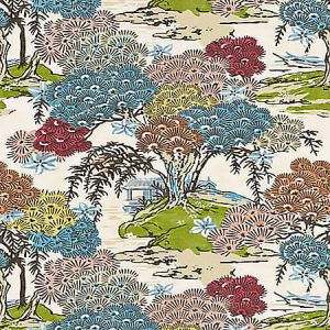 SC 0001 16627 SEA OF TREES Sunrise Scalamandre Fabric
