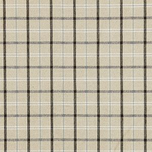 27121-001 BRISTOL PLAID Mineral Scalamandre Fabric