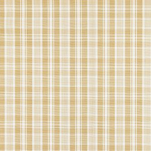 27122-001 PRESTON COTTON PLAID Camel Scalamandre Fabric