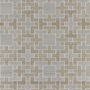 SC 0001 WP88471 ALLEGRO - SISAL Dove Scalamandre Wallpaper