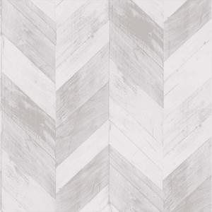 WP88422-001 CHEVRON VENEER Beige Scalamandre Wallpaper