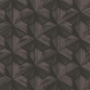 WP88425-001 BENT WOOD Dark Brown Scalamandre Wallpaper