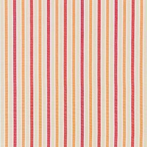 27114-002 LEEDS COTTON STRIPE Coral Scalamandre Fabric