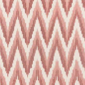 27185-002 ADRAS IKAT WEAVE Coral Scalamandre Fabric