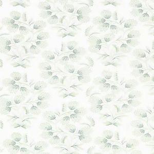 SC 0002 27233 HANA EMBROIDERY Eucalyptus Scalamandre Fabric