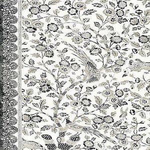 SC 0004 16625 ANISSA PRINT Truffle Scalamandre Fabric
