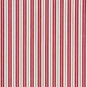 27115-004 DEVON TICKING STRIPE Currant Scalamandre Fabric