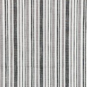 27116-005 PEMBROOKE STRIPE Charcoal Scalamandre Fabric