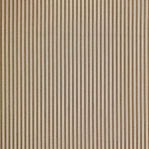 36395-006 KENT STRIPE Sepia Scalamandre Fabric