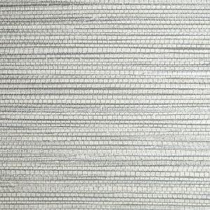 SC 0008 WP88441 WILLOW WEAVE Hematite Scalamandre Wallpaper