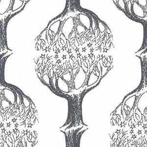 SD5169-2 Celesta Tree Grey Brewster Wallpaper