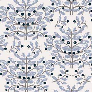 SD5283-1 Kristofer Botanical Slate Brewster Wallpaper