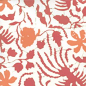 6650W-04WP SEYA Coral Salmon Quadrille Wallpaper