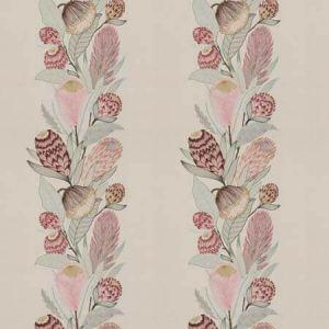SUGARBUSH Pink Begonia Vervain Fabric