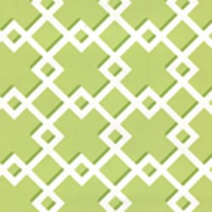 302796W TODD Green On Almost White Quadrille Wallpaper