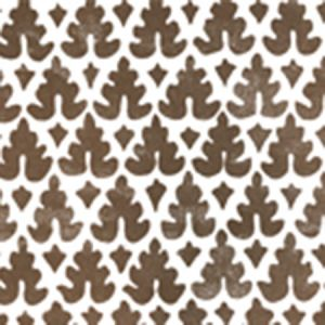 304049WP VOLPI Brown Quadrille Wallpaper