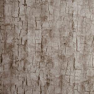 W0062/05 TREE BARK Pewter Clarke & Clarke Wallpaper