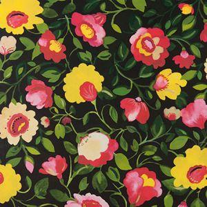 W0078/01 TATIANA JUMBO Noir Clarke & Clarke Wallpaper