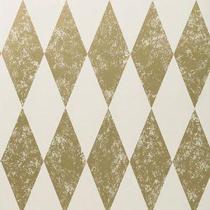 W0087/02 TORTOLA Gold Clarke & Clarke Wallpaper