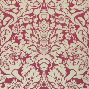 W0088/07 VALENTINA Raspberry Clarke & Clarke Wallpaper