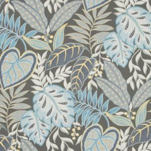W3497-1521 JASMINE Denim Kravet Wallpaper