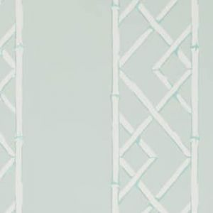 W3502-135 LATTICEWORK Aqua Kravet Wallpaper