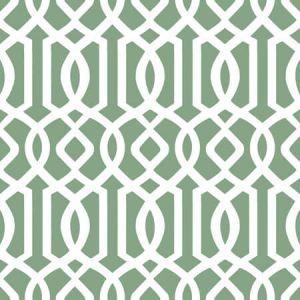 W7694-15 INTERLACHEN SCROLL Stout Wallpaper