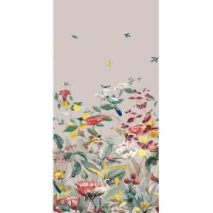 WBN 00039190 KOTORI MURAL Light Grey Scalamandre Wallpaper