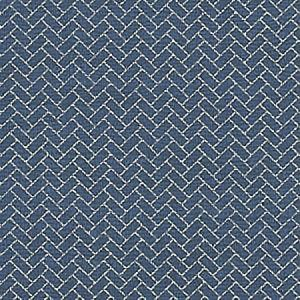 WBP10212 HABERDASHY Indigo Winfield Thybony Wallpaper