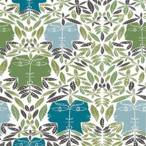 WH0 0001 6470 CAP D'AIL Vegetal Scalamandre Wallpaper