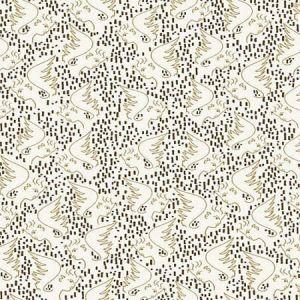 WH0 0002 6466 FIGURE D'ANGE Ivoire Bronze Scalamandre Wallpaper
