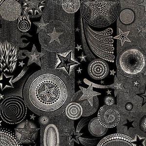 WH0 0003 3332 ETOILES Nuit Scalamandre Wallpaper
