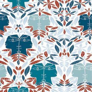 WH0 0003 6470 CAP D'AIL Bleu Scalamandre Wallpaper