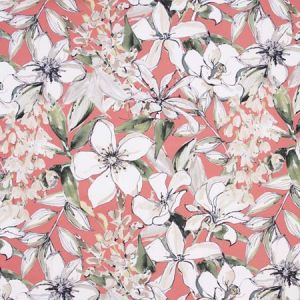 WHAT WE SHARE Coral Carole Fabric