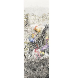WNM 0001 ARCP5 ARCADIA MURAL PANEL 5 Multicolor Scalamandre Wallpaper