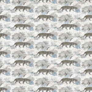 WNM 0002 LEOP LEOPARD WALK Powder Scalamandre Wallpaper