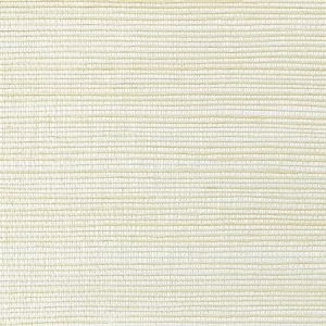 WNM 0002META METALLICA GRASSCLOTH Chalk Scalamandre Wallpaper