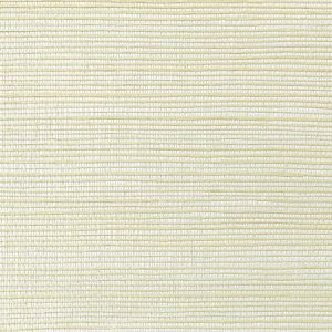 WNM 0003META METALLICA GRASSCLOTH Cream Scalamandre Wallpaper