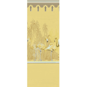 WNM 0003PSLP PALM SPRINGS DYPTICH Golden Scalamandre Wallpaper