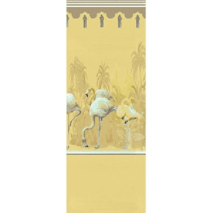 WNM 0003PSRP PALM SPRINGS DYPTICH Golden Scalamandre Wallpaper