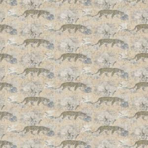 WNM 0004 LEOP LEOPARD WALK Cream Scalamandre Wallpaper