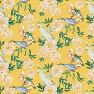 WNM 0004PEON PEONY INSPIRA Goldenrod Scalamandre Wallpaper